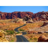Road travelling at the Valley Of Fire