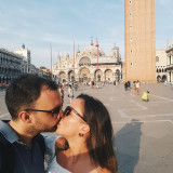 nominatedA young couple kissing on the St.Mark's square in Venice, Italy