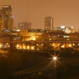 The Minnesota Twin Cities Skyline - St Paul At Night