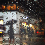 I love cab rides on rainy days. #nyc
