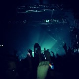 A shot from Madeon's gig at the Electric Ballroom in Camden.
