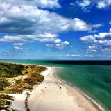 Cape Florida beach in Key Biscayne-- voted a top 10 US beach