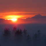 Amazing sunrise in Marysville, WA