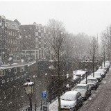Amsterdam in winter time