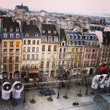View from above at Centre Georges Pompidou