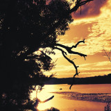 Sunset, Port Hacking, Maianbar, Sydney, Australia