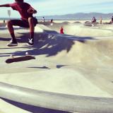 Taken at the Venice Beach skate park in 2012.