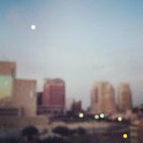 Waking up before the sun is hard, but the light is incredible. This picture was taken of Downtown Dallas. I especially love the moon that is still out. I decided the picture should be blurry because of the blurry state I was in and most people are in upon first waking up in the morning.