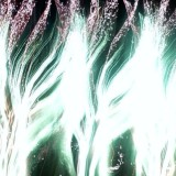 Taking photos of fireworks in Montreal. The camera did this on its own, nothing has been specially modified.