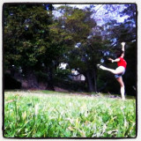 just another beautiful day, dancing in nature to celebrate