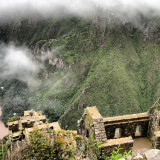 This is taken when I was climbing down from the top of Waynapicchu, in Machu Picchu, Peru. On the way down there was many ruins like these, on the steeps hills. Magnifient!