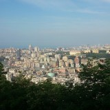I took this picture of Genova in a spring day, from the sanctuary of Madonna del Monte
