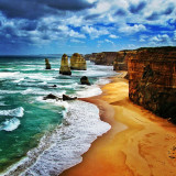 Twelve Apostles (or what's left of them), Great Ocean Road, Victoria, Australia, 2011