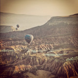 Air baloons over Cappadocia, Turkey.