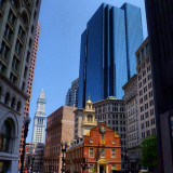 The Old State House in downtown Boston MA.