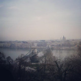 Pest seen from Buda.