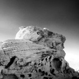 Beehive Rock Formation, Valley of Fire, Nevada, USA. Sacred Native American Indian land.