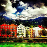Capital of the alps. Innsbruck.
