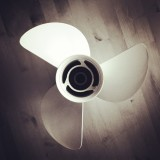 Close up of electric fan