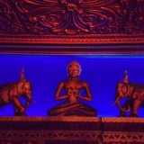 Buddha and Elephants at the beautiful Civic Theatre, Auckland NZ. Heritage Bling at its best.