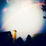Awesome picture and edit (by me) of the sky above my house.