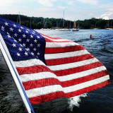 Happy Birthday America - 4th of July on Lake Champlain, Shelburne, Vermont