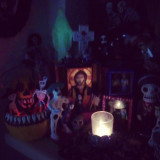 day of the dead shrine