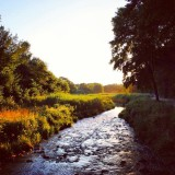 river in summerGermany