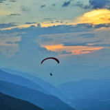 Paragliding to the Infinity