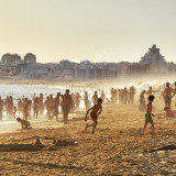 People at #beach #sunset #south #portugalEvery single person in this pic tells his story by his attitude.