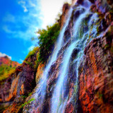 This was taken at Stewart Falls in Provo Canyon Utah. I love the way the colors turned out! Truly magical.