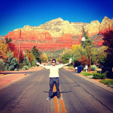 Me in Sedona, Arizona, USA, 11/2012.