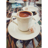 Turkish Coffee with some Turkish Delight
