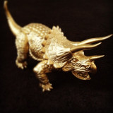 Vintage dinosaur toy, from my childhood.