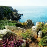 A beautiful place on the coast of Brittany France.