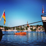S u m m e r  I n  Flensburg #summer #flensburg #germany #flag #holiday #thebestoftheday #photooftheday #sea #ocean #nature #landscape #tagsforlikes #sky #cloud #instanaturelover #beautiful #city #low #price #travel