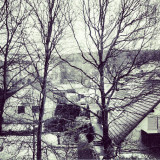 view from 6th floor #weingarten #Germany #briach in the #winter of 2011 #snow #igaddict #igersoftheday #instamood #instamillion #instaaaaah #instago #instahub #instapic #instagood #gf_daily #tree #trees #houses #town #europe #meecollections #mobilephotography #mood