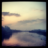#lake #water #river #morning #sunrise #clouds #sky #chennai #madras #india