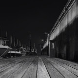 #crop of #rise #black #white #grayscale #water #wood #dock #boats #wall #color #night #smithtown #newyork #longisland www.facebook.com/farazzphotography