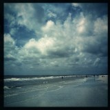 It was a beautiful day at the beach... The storm didn't reach us! #HipstaRoll_Week65 #Hipstamatic #Wonder #W40