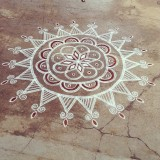 Every South Indian house would adorn one of these and it gets bigger and better during the festivals season!