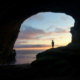 Throwback cave dwelling on my last night in Santa Cruz. I miss that place and I definitely miss the people