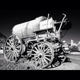 An old Street Cleaner from a bygone era.  Not sure the year, but it is marked with City of San Diego on it!