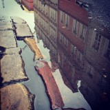 #oldtown #in #poland #poland, #puddle #reflection #puddlegram