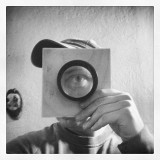 I am happy about my new lens 260 mm f/3.8#trebic #třebíč #lensboard #lens #eye #test #czech #wetplate #collodion #ambrotype #tintype #bw #board