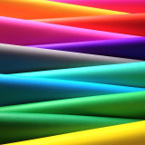 Colorful assortment of fabric