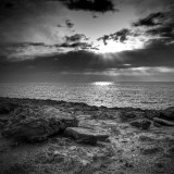 North Cyprus series... B&W version of the Kaplıca coast posted before, hope you like it :)