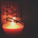 Thank you to the makers of pumpkin spice candles; they help it feel like fall. #thesimplethings