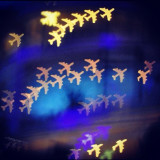 Bokeh airplanes ✈