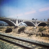 Finally making it to Union Station! #bridge #losangeles #train #railroad #urban #day #afternoon #amazing #awesome #california #trainride #travel